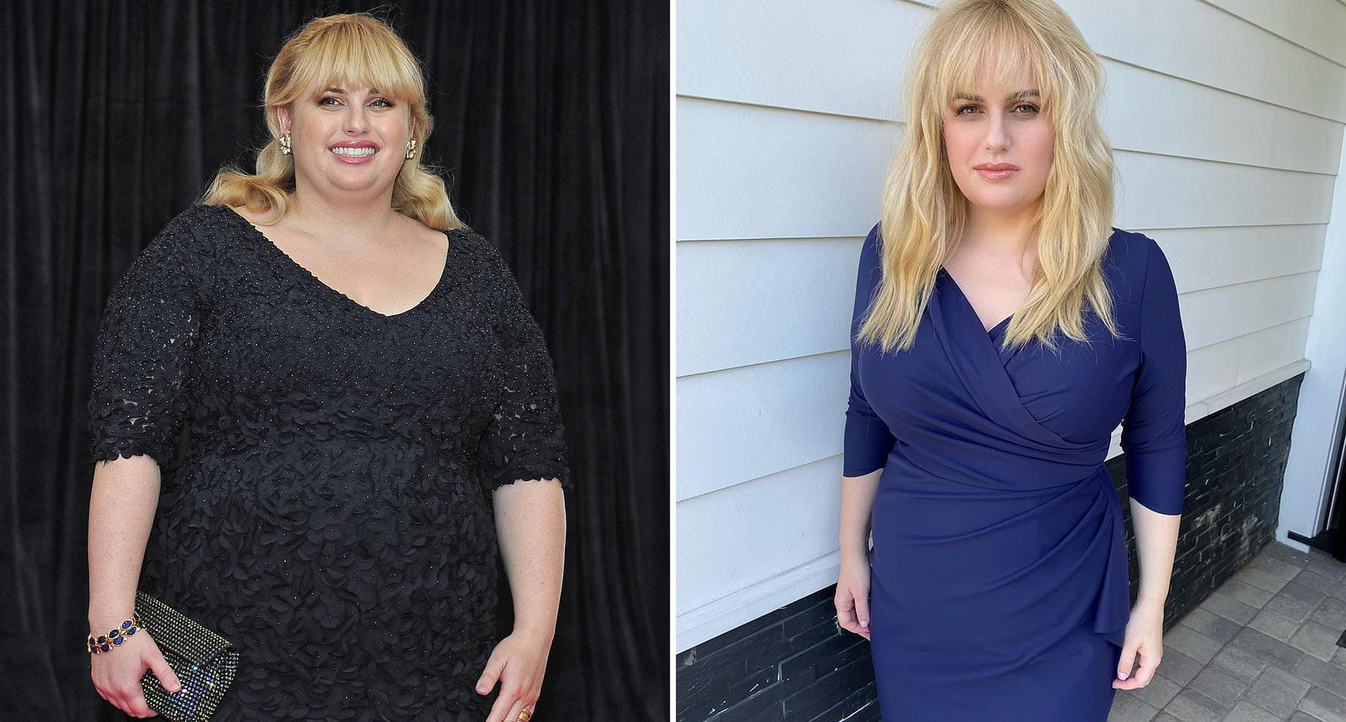Rebel Wilson Stuns In Gorgeous Blue Dress After Losing 40 Pounds!