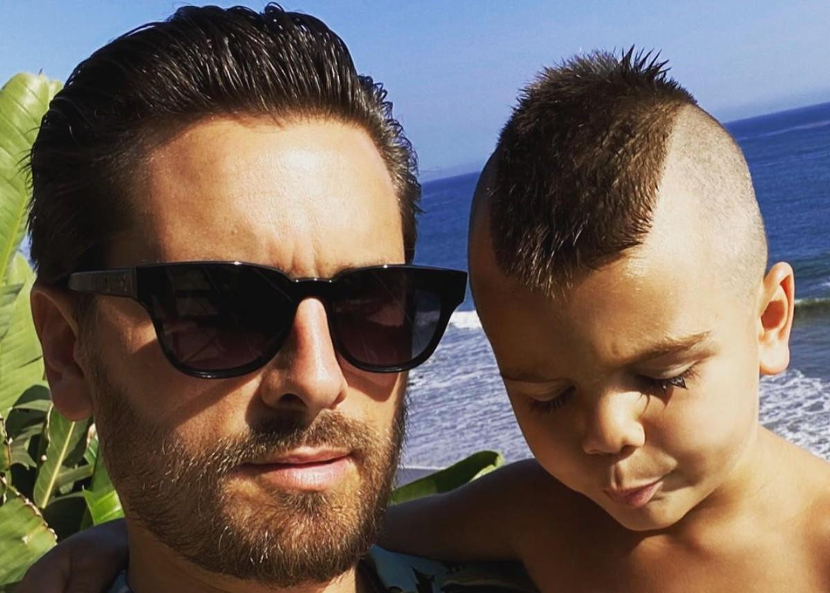 Reign Disick Has A Mohawk As Fans Urge Scott Disick And Kourtney Kardashian To Have Another Baby