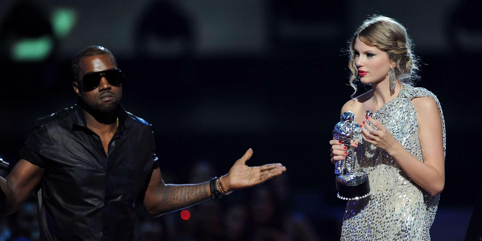 Kanye West Vows To Get Taylor Swift The Rights To Her Albums Back - Again!