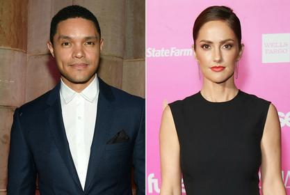 Trevor Noah And Minka Kelly Reportedly In A 'Serious Relationship!'
