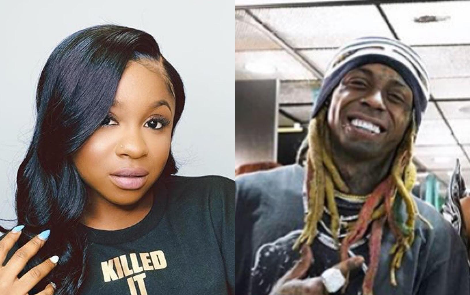 Reginae Carter Praises Her Dad, Lil Wayne On Social Media - See Her Clip