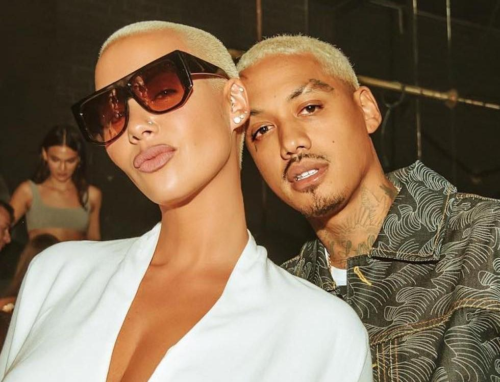 "Amber Rose Calls Alexander ""A.E."" Edwards Her 'Husband' - Did They Secretly Tied The Knot?"