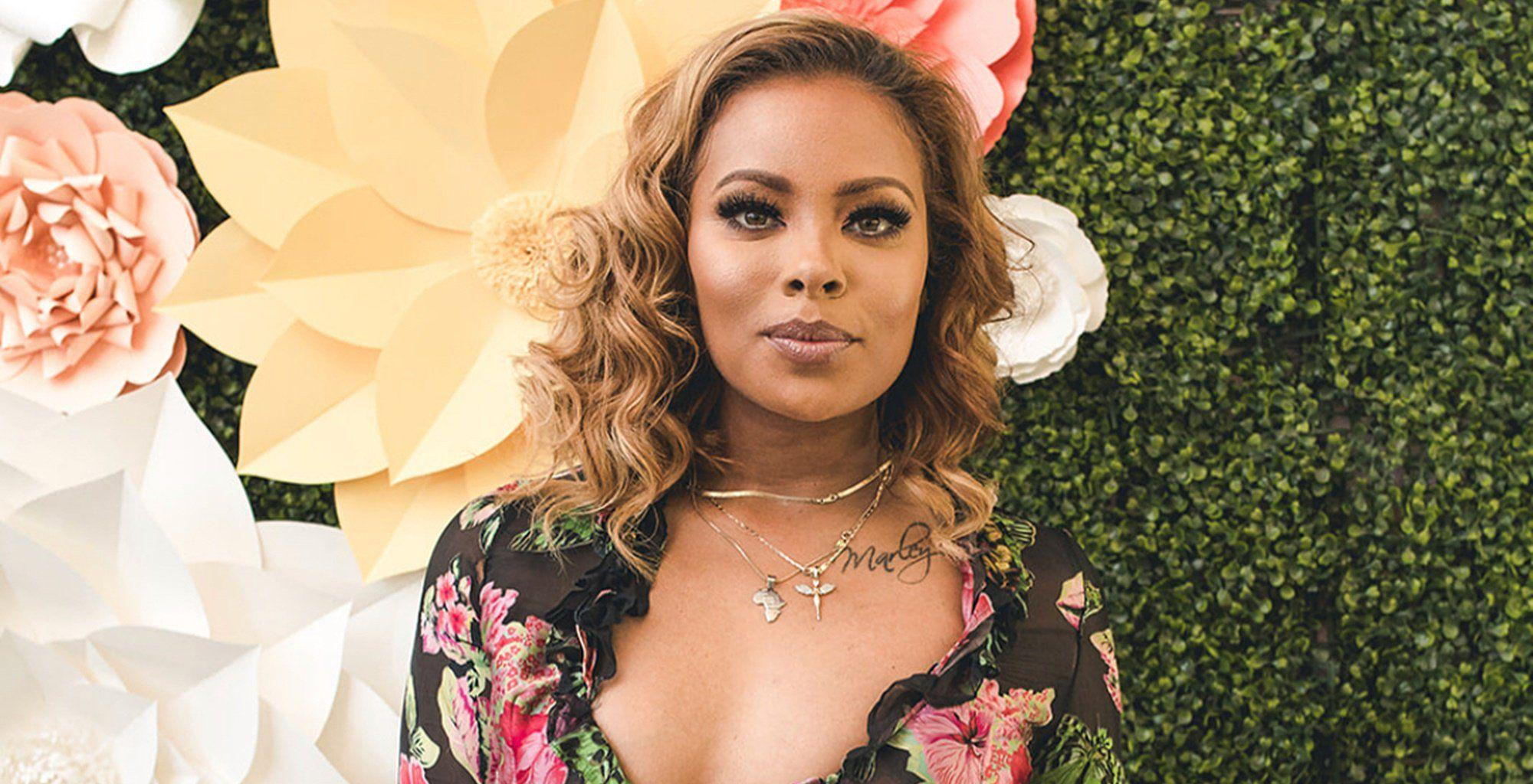 Eva Marcille Shares Juicy Photos With Mike Sterling From Cynthia Bailey's Wedding - Haters Try To Body Shame Her
