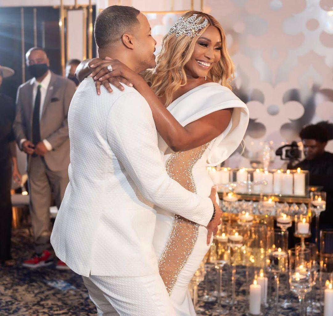 Cynthia Bailey Posts More Amazing Photos From Her Impeccable Wedding
