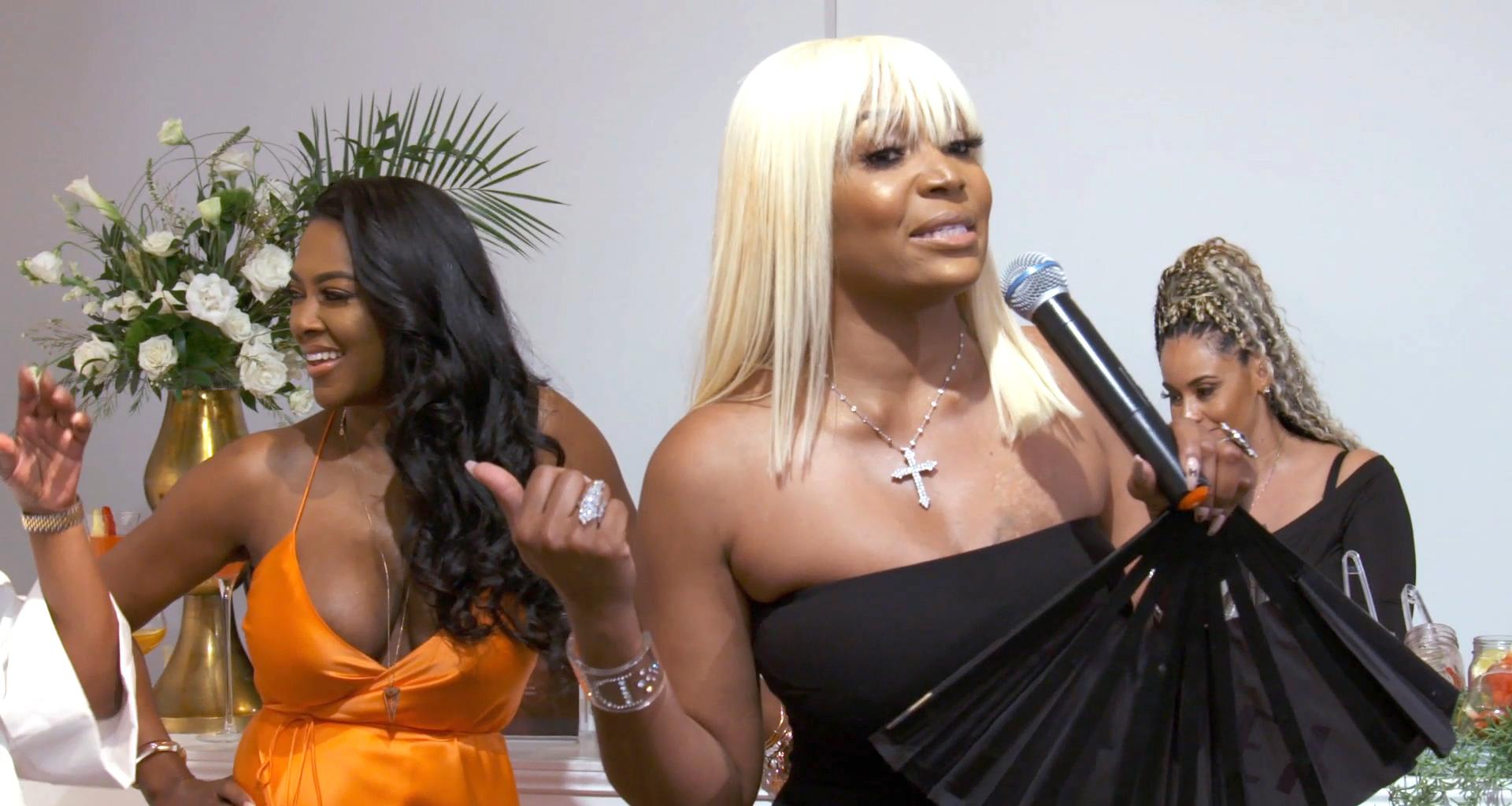 Kenya Moore Shares A Photo With Marlo Hampton And Some Fans Freak Out