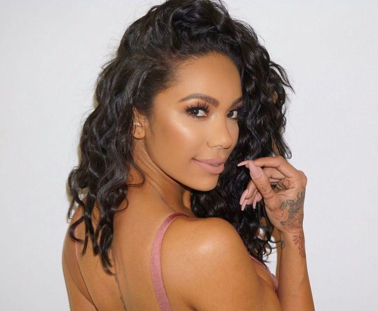 Erica Mena Shows Off Her Generous Curves In This Cute Fashion Nova Outfit