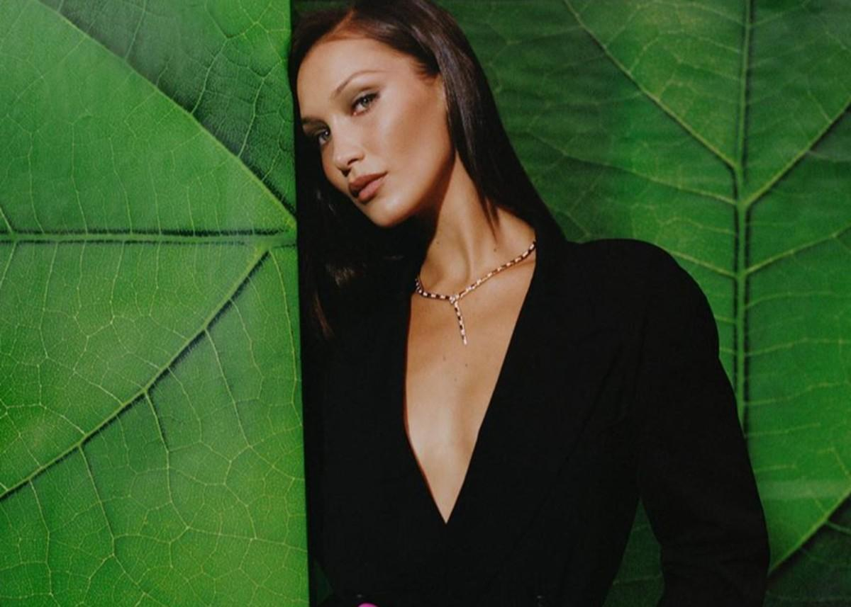 Bella Hadid Flaunts Her Flawless Figure In A Melissa Simone Two-Piece Bathing Suit