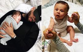 Ammika Harris Makes Fans Happy With Footage Featuring Chris Brown And Their Baby Boy Aeko!