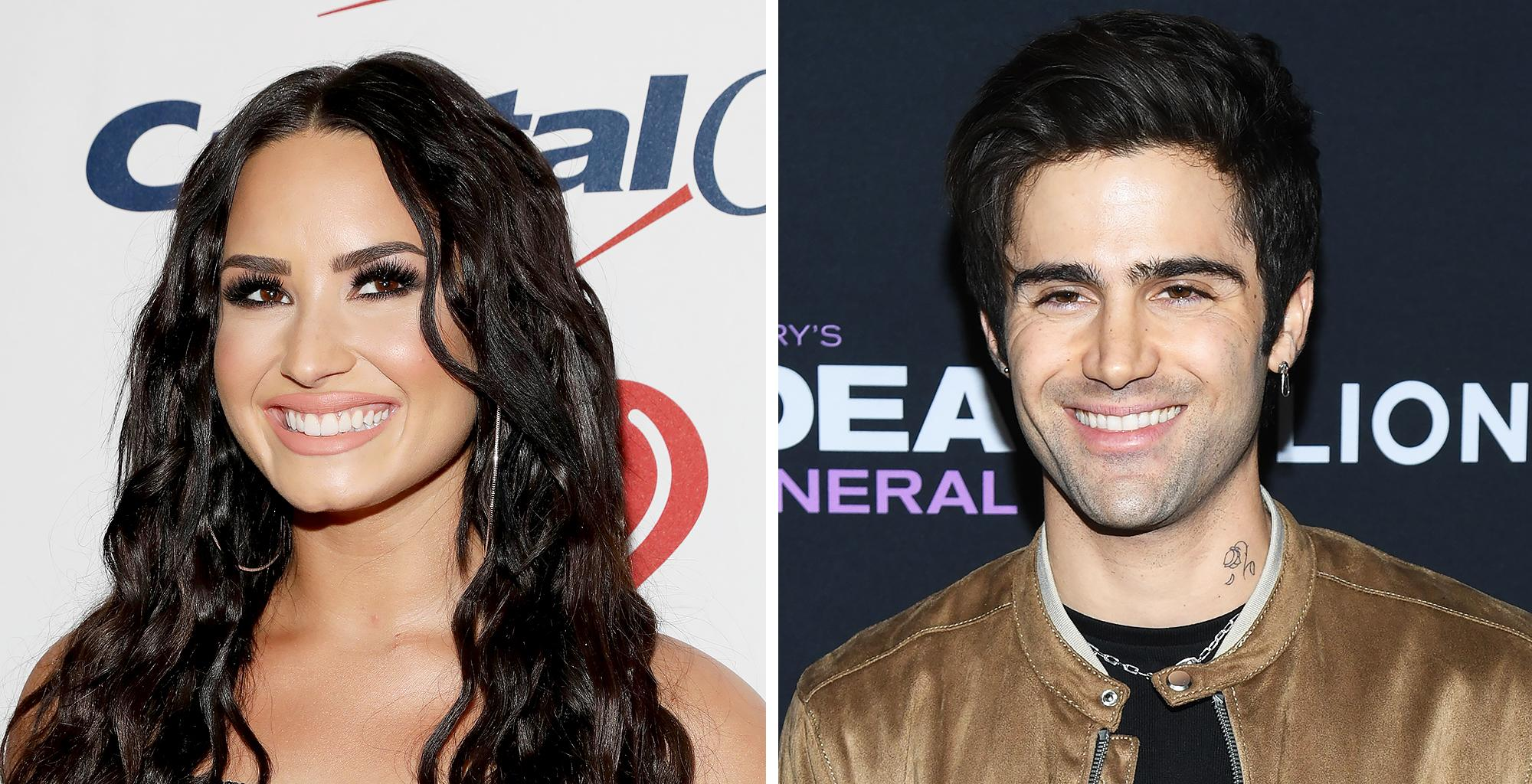 Max Ehrich Says He Was Used By Demi Lovato -- Brings Up Pete Davidson And Ariana Grande