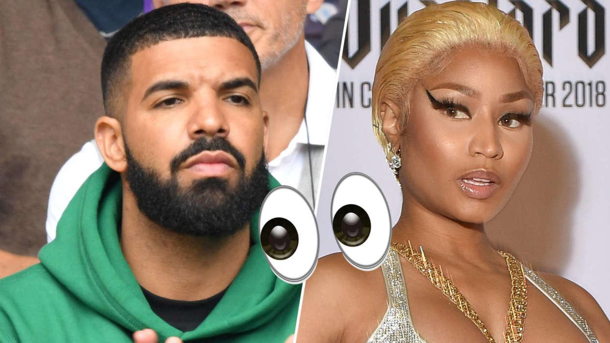 Drake And Nicki Minaj Might Be Meeting Up For A Play Date