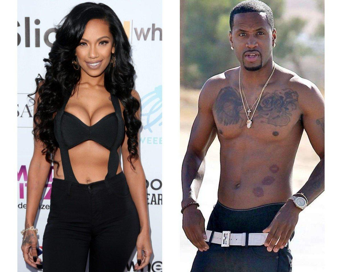 Safaree Impresses Fans With His Weight Loss Journey - See His And Erica Mena's Fitness Program