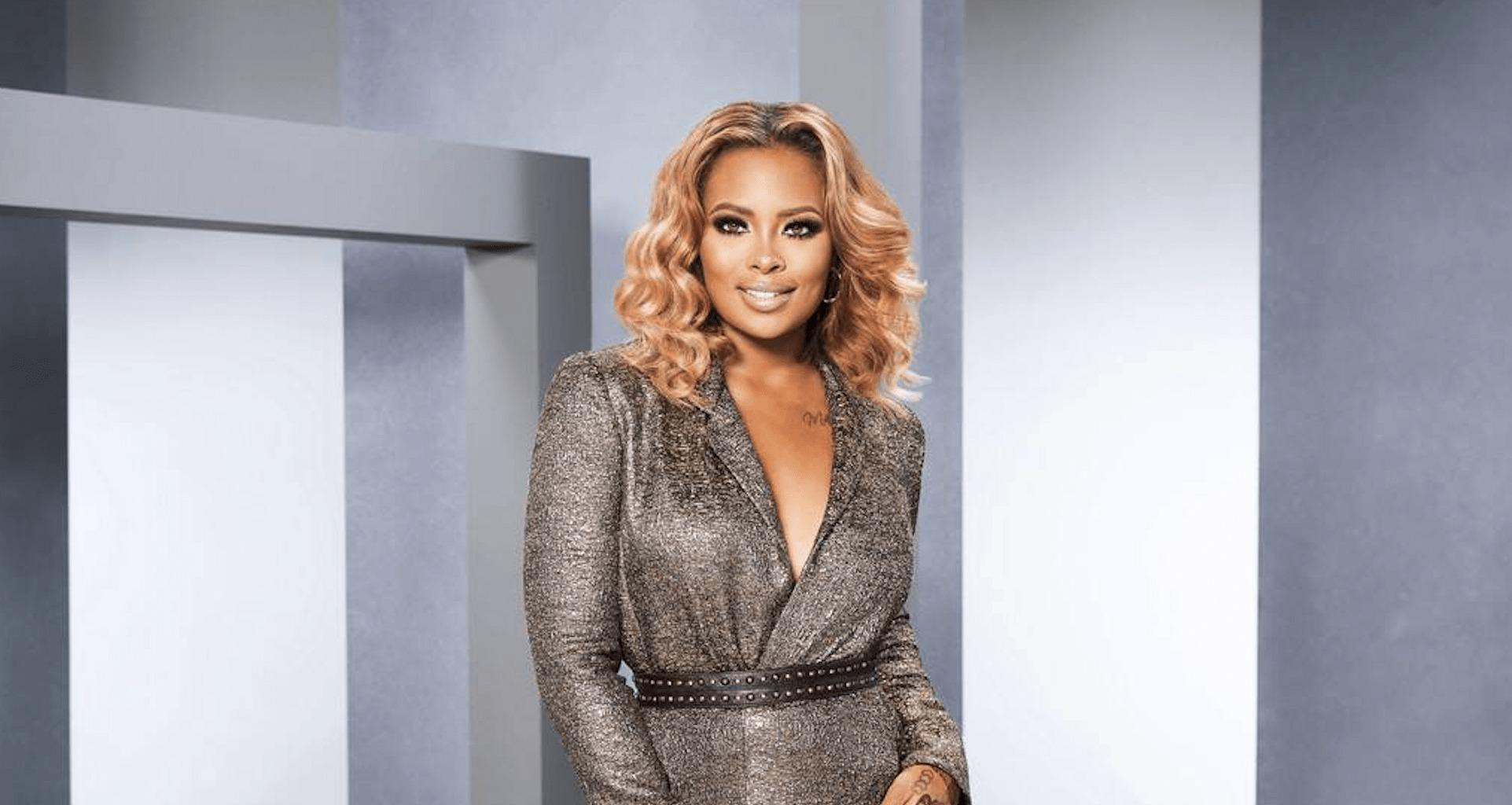 Eva Marcille Makes Fans Laugh With A Short Clip From A Spooky Show Featuring Safaree!