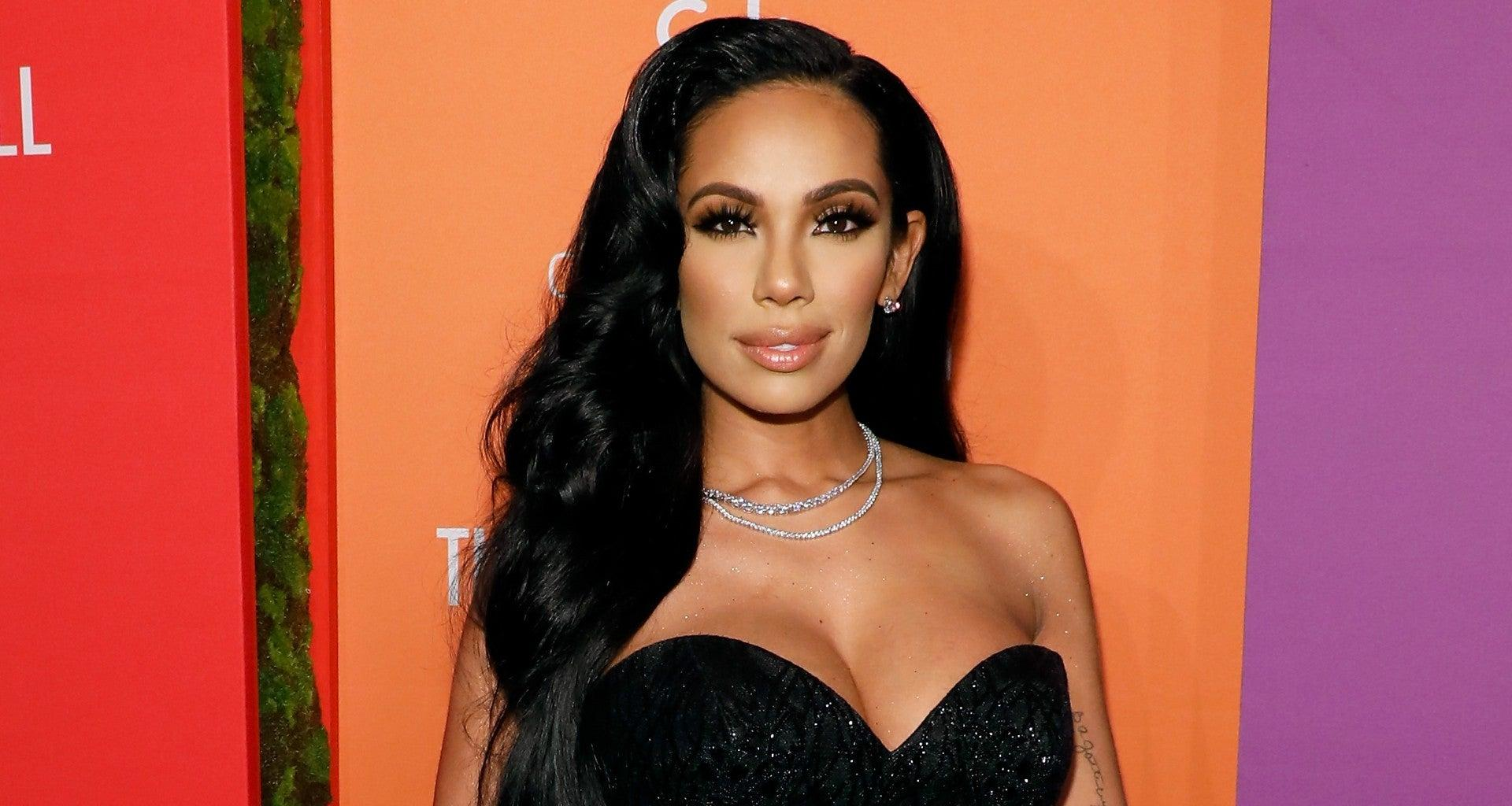 Erica Mena Is Showing Off Her Toned Legs In This Gorgeous Mini Dress