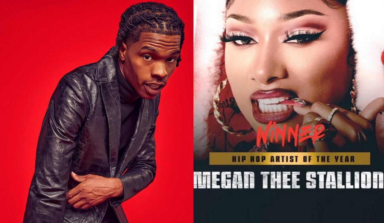 """Megan Thee Stallion Wins """"Hip-Hop Artist Of The Year"""" But Lil Baby Fans Say He Got Robbed By BET & DJ Akademiks Agrees"""