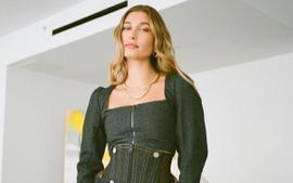 Hailey Bieber Puts On A Fashionable Display In Vivienne Westwood