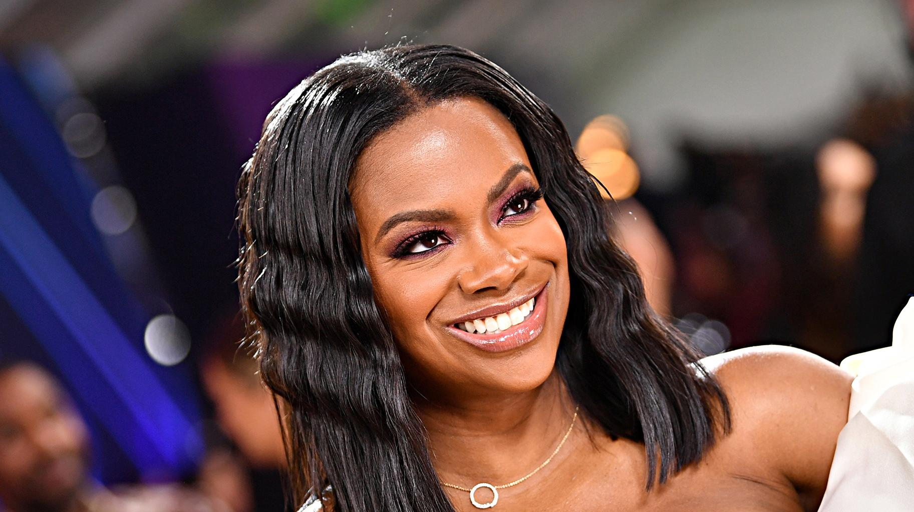 Kandi Burruss Shows Fans A Video That Cracked Her Up