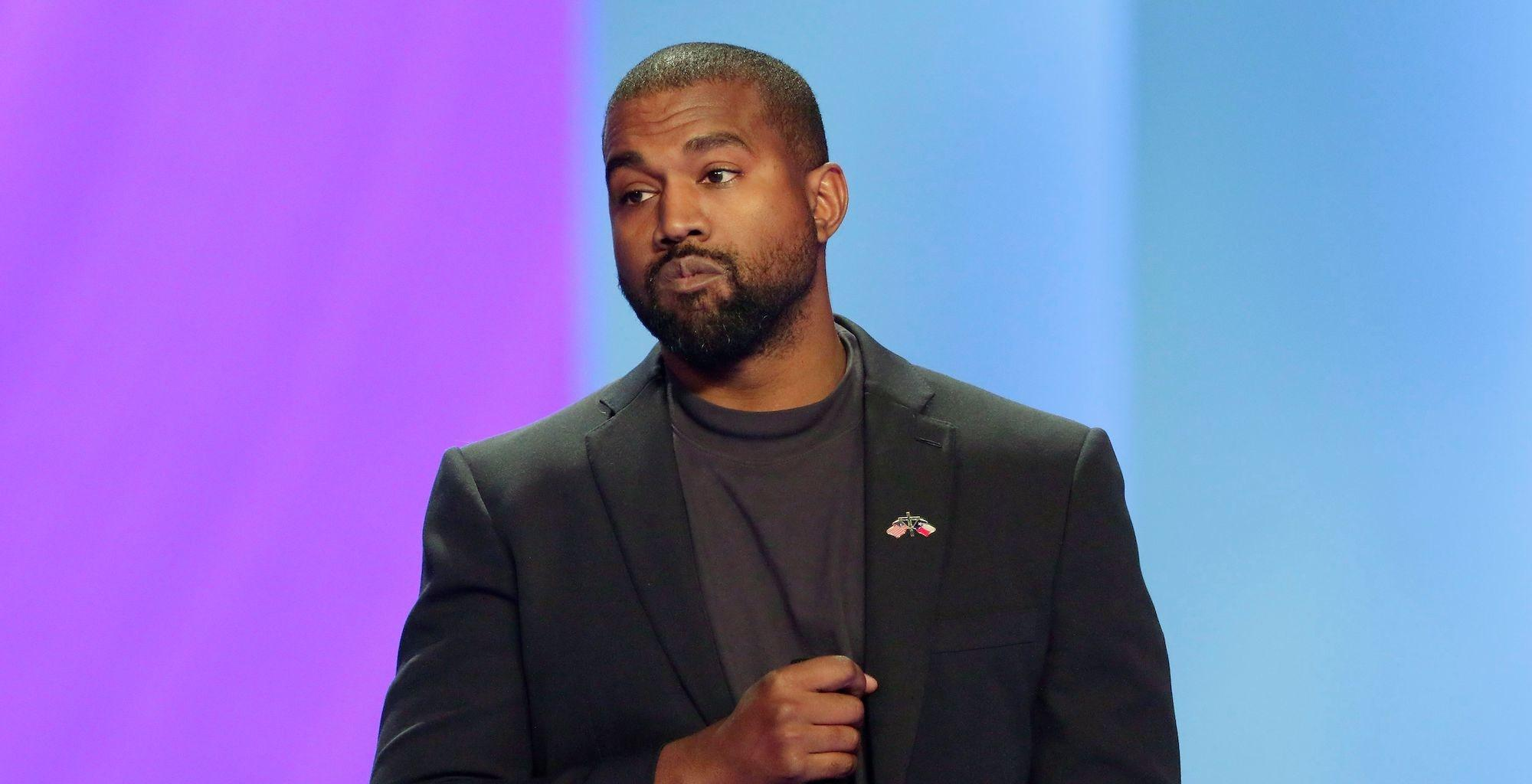 Kanye West Proudly Votes For Himself And Social Media Drags Him!
