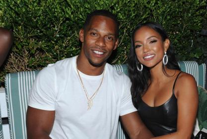 Victor Cruz Says He Was 'Nervous' When Meeting GF Karrueche Tran's Family - Here's Why!