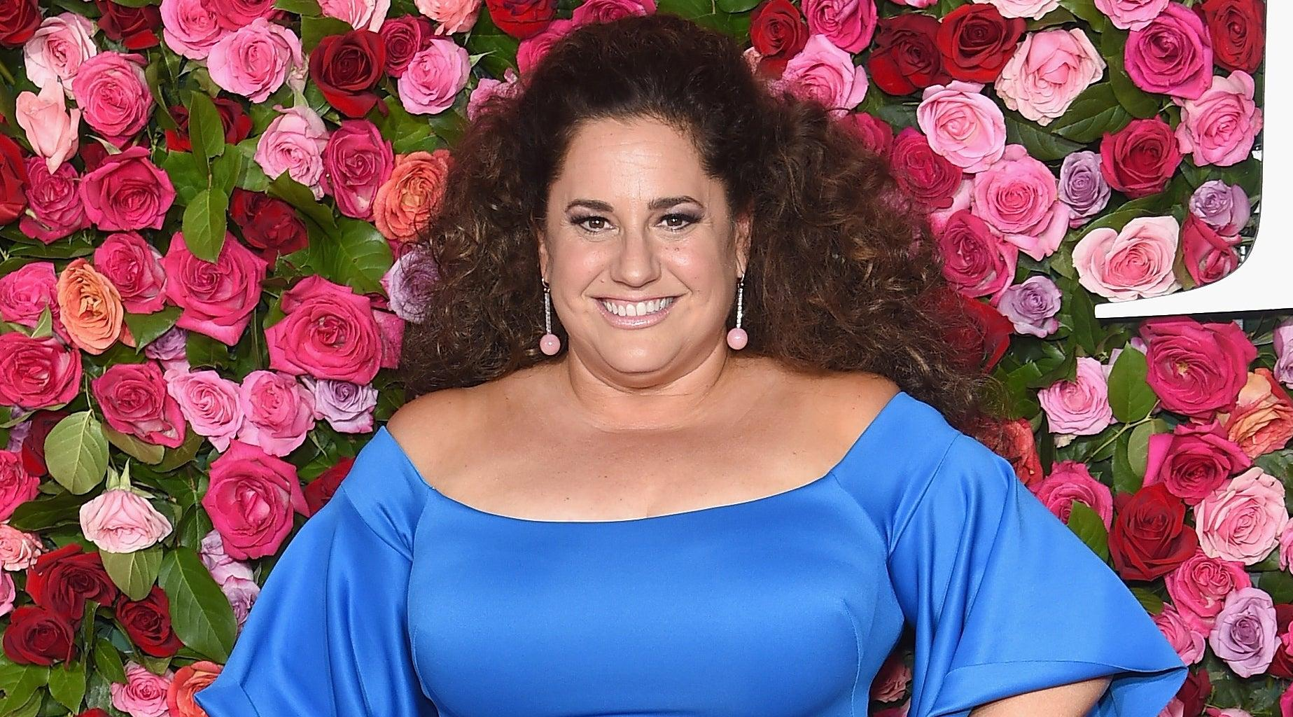 Marissa Jaret Winokur Rocks Patriotic Outfit And Shows Off Her Impressive Weight Loss In Swimsuit Top While Voting!