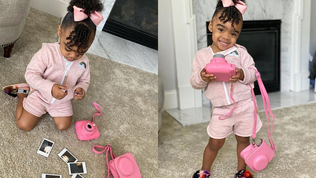 Toya Johnson's Baby Girl, Reign Rushing Is The Sweetest In A Nova Kids Outfit At The Pumpkin Patch