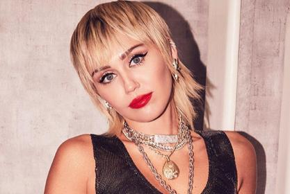 Miley Cyrus Stuns In Saint Laurent
