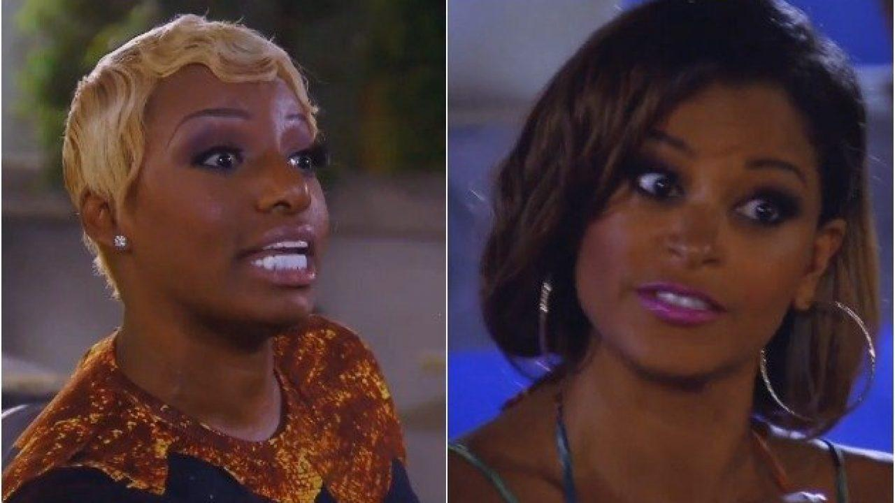 Nene Leakes Gets Dragged By Claudia Jordan For Laughing At Her Domestic Abuse Experience -- Says She Cheated On Gregg Leakes With A Football Player