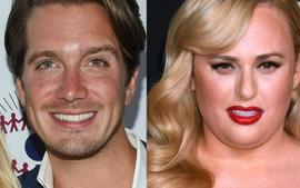Rebel Wilson's Hunky Boyfriend Sweetly Kisses Her On Date Night - Check Out Her Stunning White Dress!