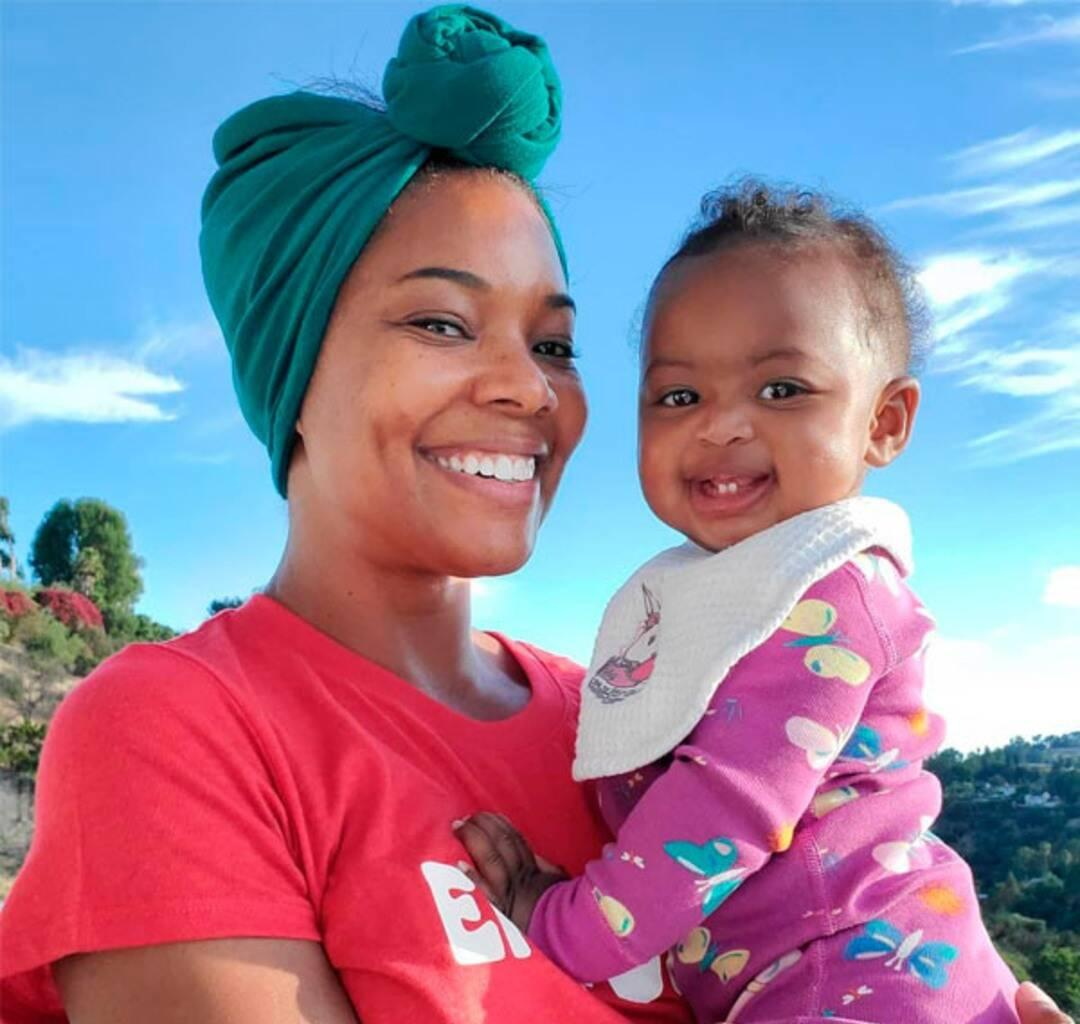 Gabrielle Union's Recent Clip Featuring Baby Girl, Kaavia James Has People Cheering For Her