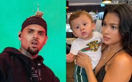 Chris Brown's Son Is A True Mini-Me Posing In A Photo Shared By Ammika Harris - Here's The Cute Pic