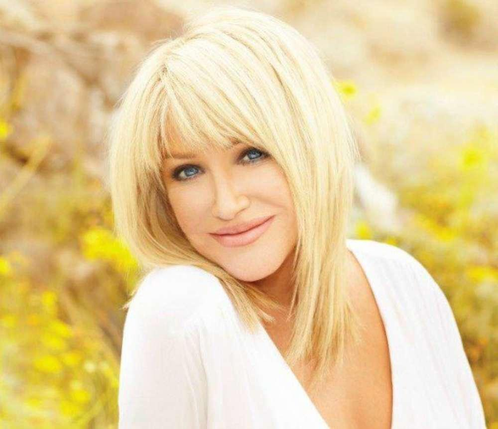Suzanne Somers Dispels Rumors That She Hurt Her Back During Romantic Time With Her Husband