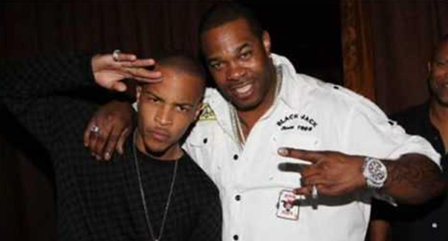 T.I. Still Wants To Do A Verzuz Battle With 50 Cent As Busta Rhymes Begs Him In New Video To Take Him On Instead