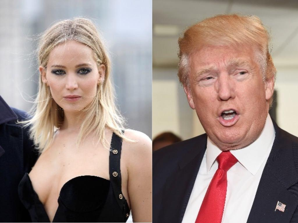 Jennifer Lawrence Drags Donald Trump For Supporting White Supremacy!