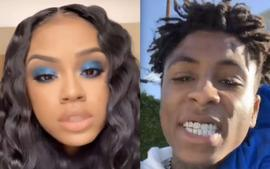 Yaya Mayweather Buys A Fancy New Bracelet For NBA Youngboy After Their Relationship Drama