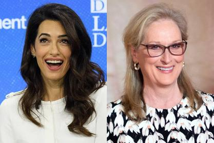 George Clooney's Wife Amal Clooney Jokes That She And Meryl Streep Were Both 'Married' To Him!