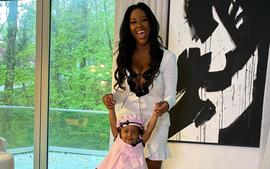 Kenya Moore's Photo Of Her Daughter, Brooklyn Daly Shows Fans What A Rider The Cutie Pie Can Be!