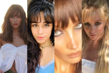 Bangs Are Back In Style — How You Can Rock Hairstyles With Fringe Like Olivia Culpo, Camila Cabello, Bella Hadid, And Britney Spears