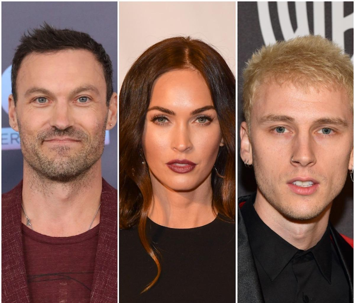 Machine Gun Kelly - Here's How He Feels About Megan Fox's New Drama With Ex-Husband Brian Austin Green Over Posting Pic Of Their Son