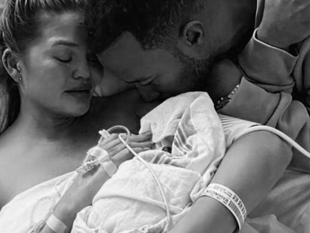 Chrissy Teigen Gets Tattoo Of Baby's Name Jack On Her Wrist Following Heartbreaking Miscarriage