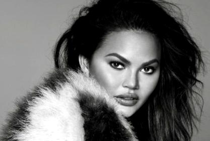 Chrissy Teigen Shows Off Her Toned Legs In Cult Gaia, Ostrich Feather Dress — See The Fashionable Look!