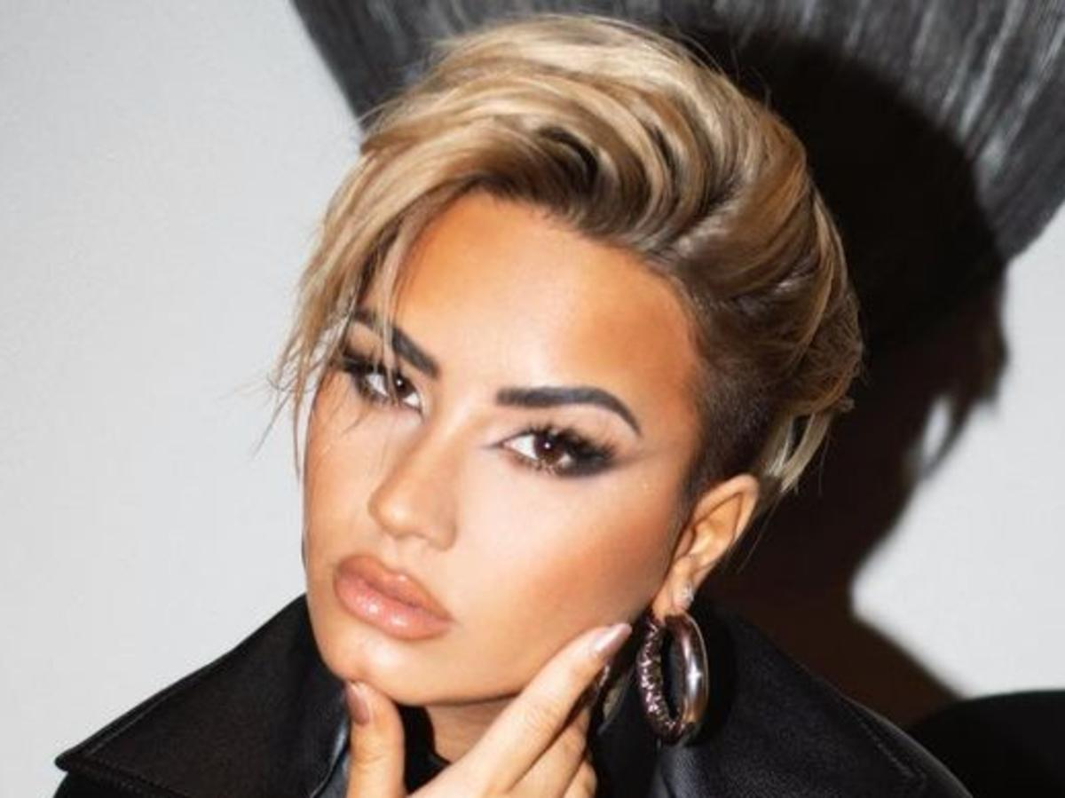 Demi Lovato Is Blonde And Gorgeous As Paul Norton And Alchemist Amber Work Their Magic — See Her New Look!