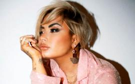 Blonde Demi Lovato Sparkles In Markarian Sequined Outfit — See Her Gorgeous Look!