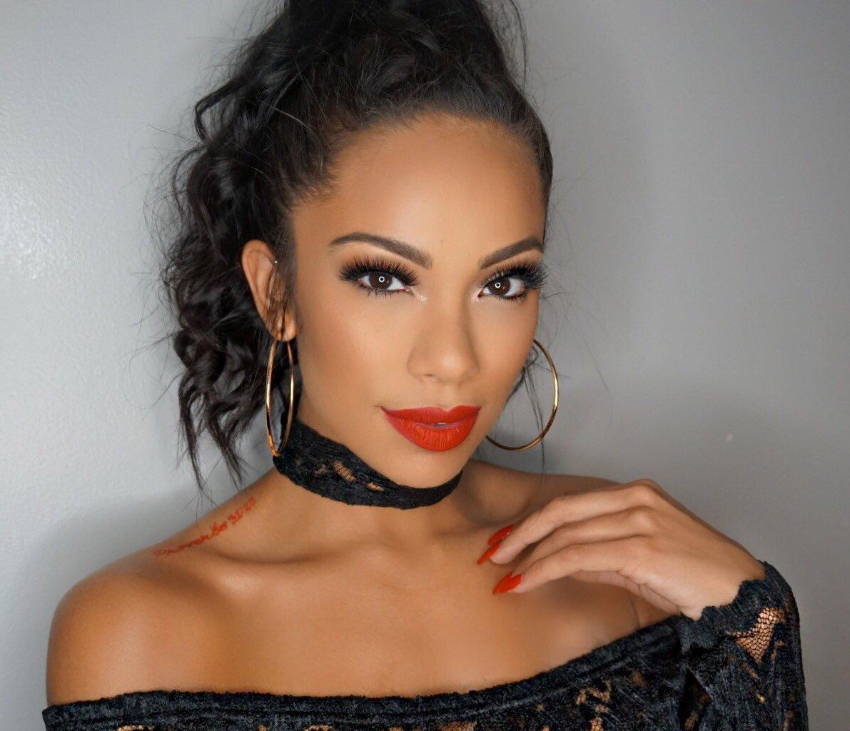 Erica Mena Shows Support For Sisters Amina Buddafly And Jazz
