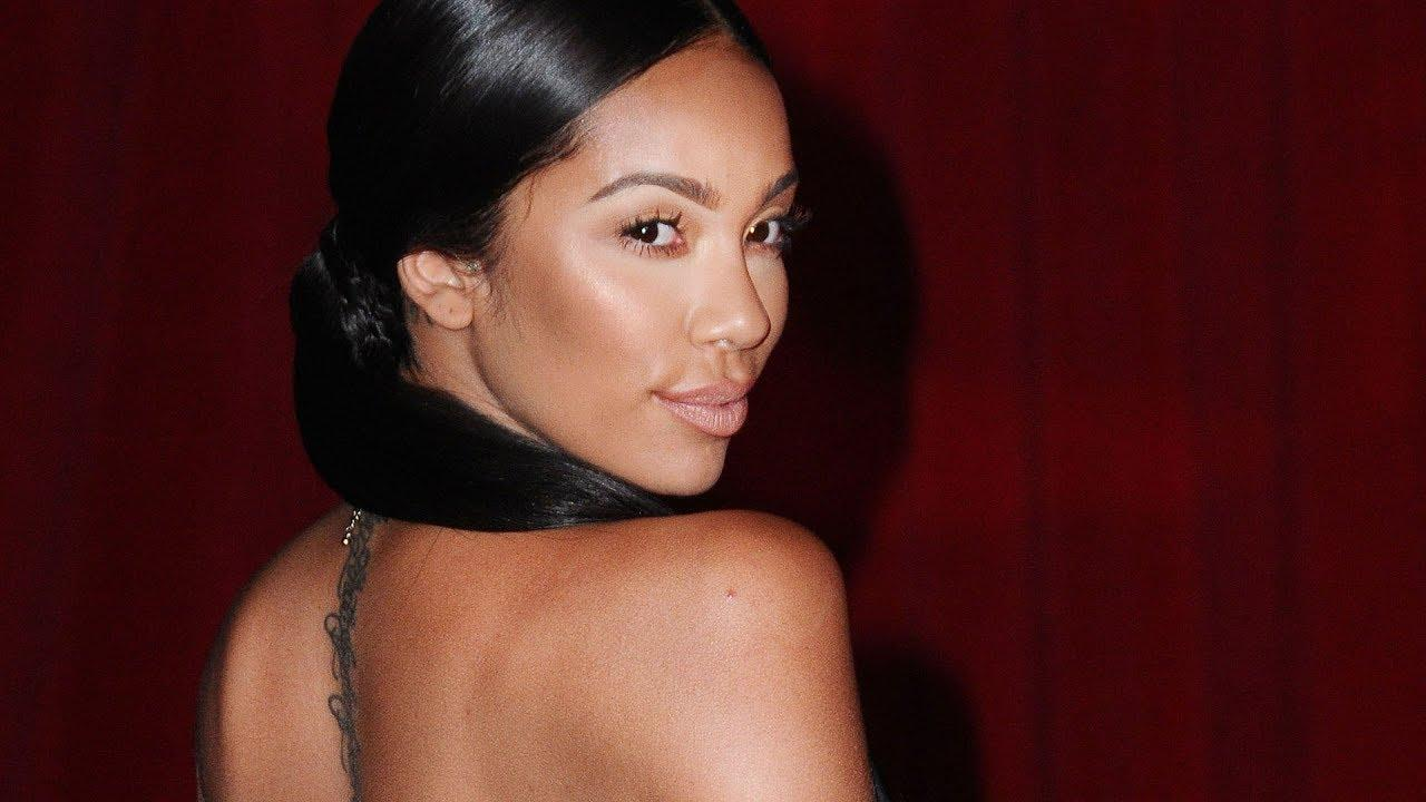 Erica Mena Is Serving Looks At The Beach, But Fans Freak Out When They See Her Busted Lip! What Happened?