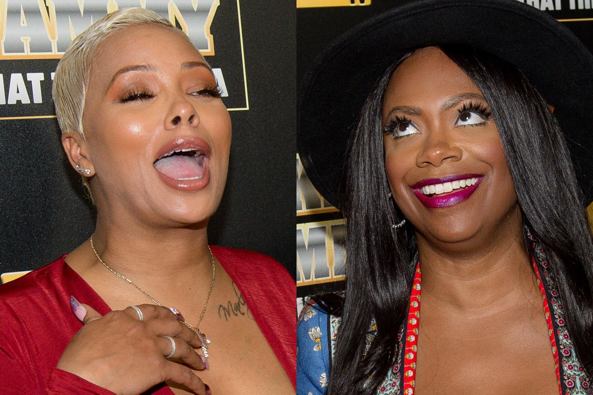 Kandi Burruss And Eva Marcille Film 'Kandi After Dark' Together - Check Out The Juicy Subjects In This Clip
