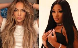 Megan Thee Stallion And Jennifer Lopez Wear The Same LaQuan Smith Cut Out Dress — Who Wore It Best?