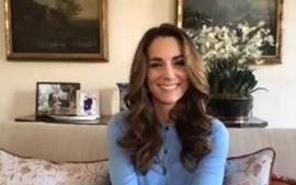 Kate Middleton Is Stunning In Frosted Blue, Boden Cardigan Sweater, But Good Luck Finding It For Yourself