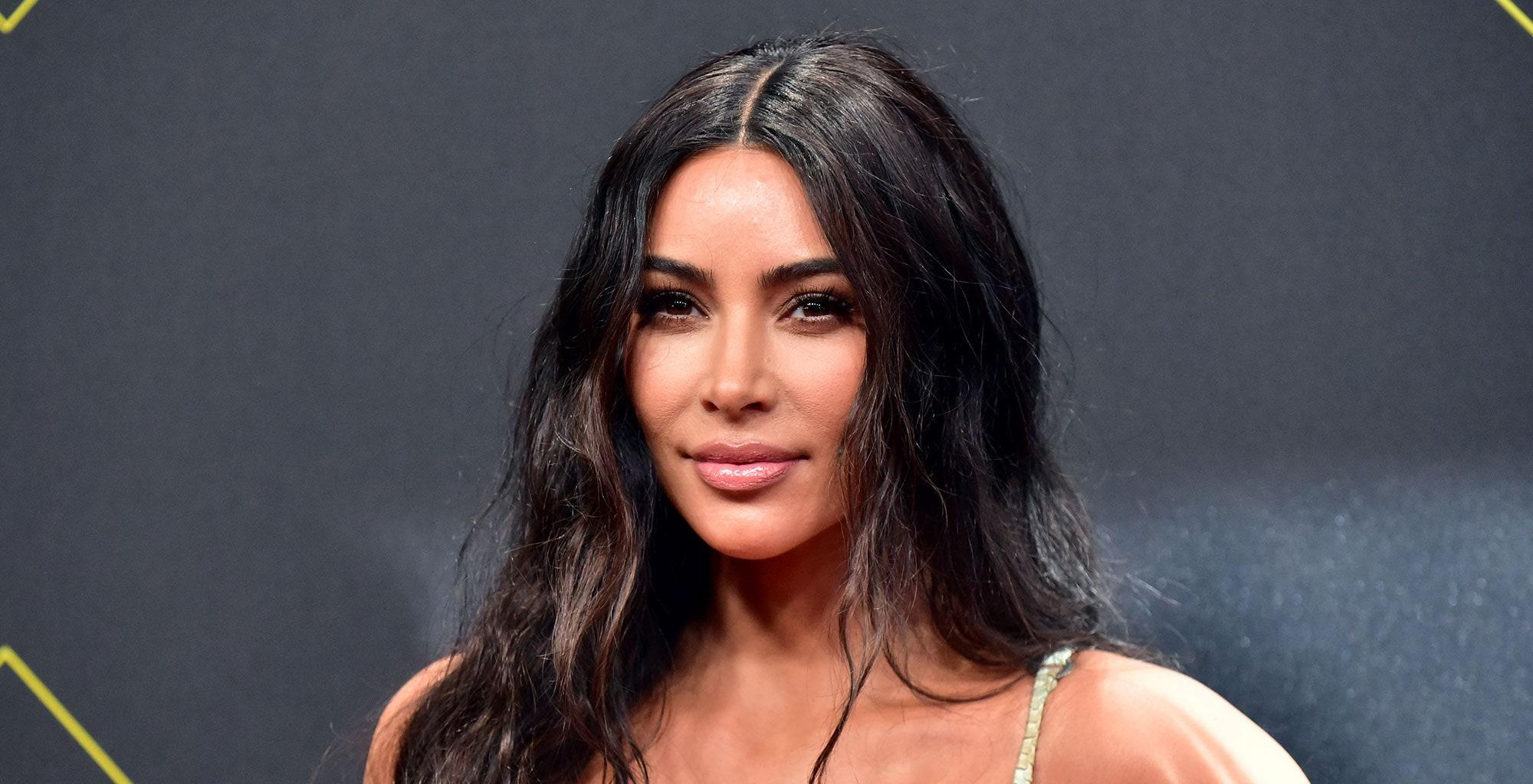 Kim Kardashian's Latest Photo Sparks Rumors About Who She Voted With