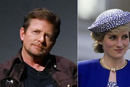 Michael J. Fox Jokingly Recalls The 'Nightmare' Of Sitting Next To Princess Diana At The 'Back To The Future' London Premiere!