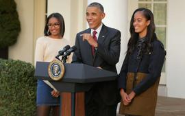 Barack Obama Gushes Over Daughters Sasha And Malia Proudly For Getting Involved In The BLM Demonstrations!