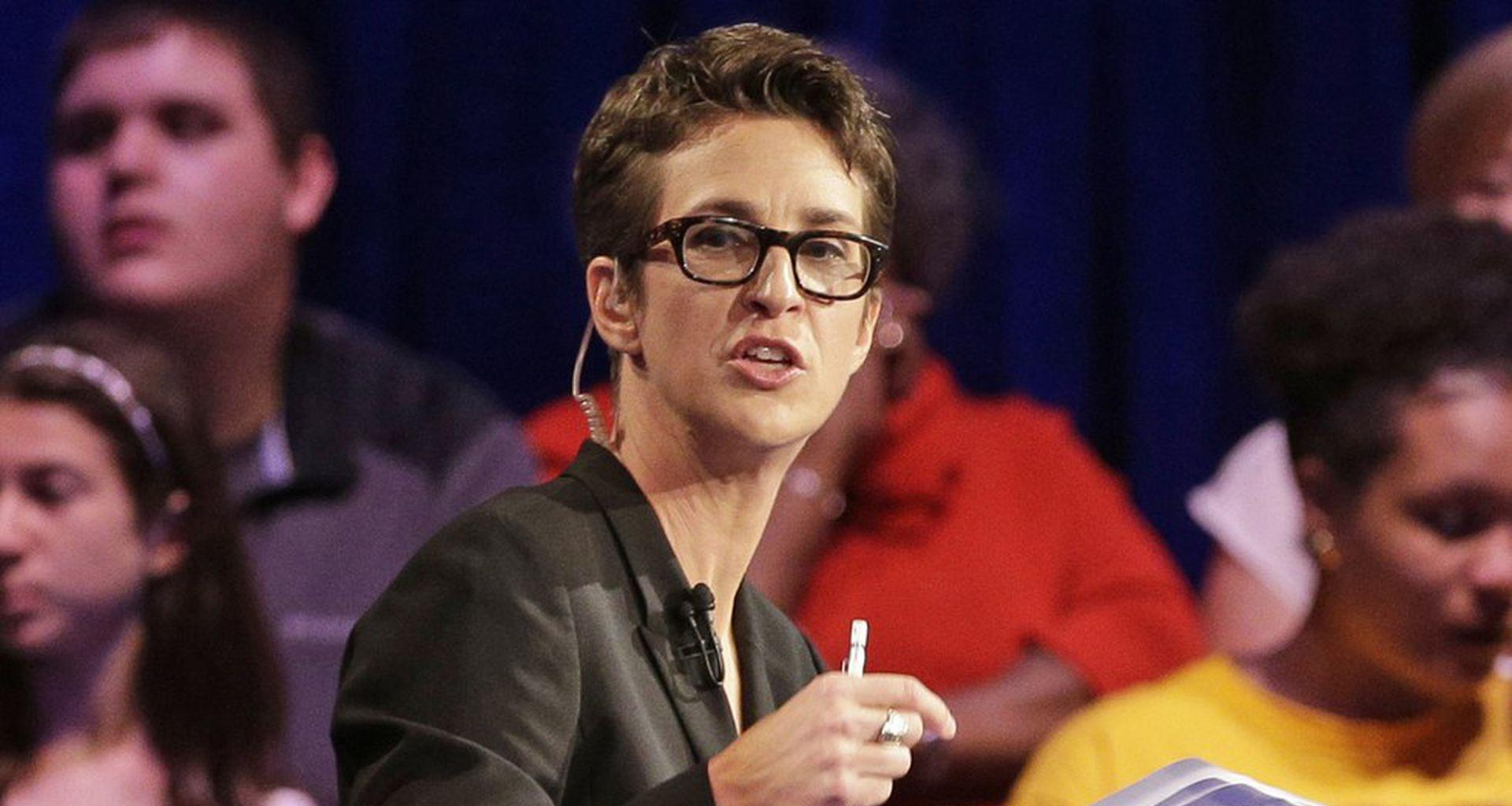 Rachel Maddow Says Her Partner Nearly Died - Delivers Powerful Message About Taking COVID-19 Very Seriously!